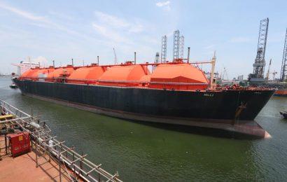 Cameroun: l'usine flottante de production de gaz naturel à Kribi réalisé à 97%