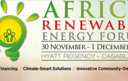 Casablanca accueille la deuxième édition du Africa Renewable Energy Forum