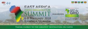 East Africa Energy Infrastructure Summit @ Kampala, Ouganda