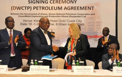 Ghana: accord entre le gouvernement et ExxonMobil pour l'exploration du bloc Deepwater Cape Three Points