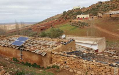 La société émiratie Masdar a achevé un projet d'alimentation au solaire pour plus de 1 000 villages au Maroc