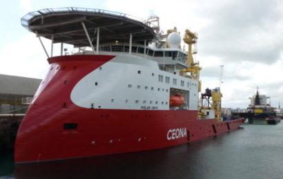 Ghana: DeepOcean remporte un contrat de 03 ans pour assurer des activités d'inspection sur les champs pétroliers TEN avec le navire Polar Onyx