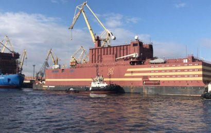 L'Akademik Lomonossov, première centrale nucléaire flottante au monde pour fournir l'électricité aux régions reculées de l'Arctique