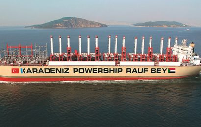 L'entreprise turque Karpowership a déployé une centrale électrique flottante au Soudan, permettant d'injecter 150 MW dans le réseau