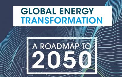 Les investissements à faire dans le secteur de l'énergie d'ici 2050 pour espérer atteindre la cible des 2°C, selon l'Irena