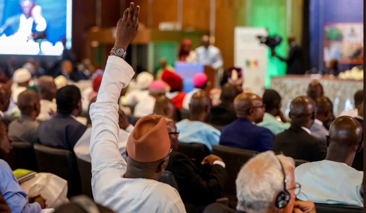 Concertation nationale sur la gestion des recettes issues de l'exploitation du pétrole et du gaz (Sénégal)