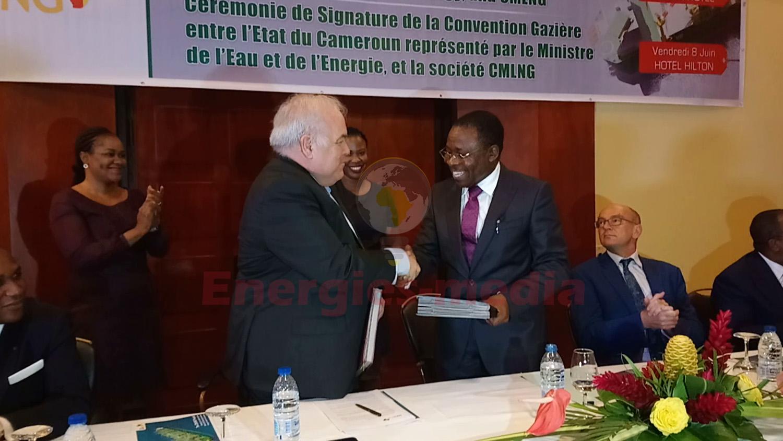 Cameroun: signature de convention gazière entre New/Age CMLNG et l'Etat pour le champ Etinde