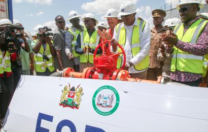 Kenya: le programme pilote de transport du pétrole brut produit à Lokichar officiellement lancé