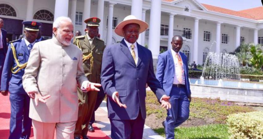 L'énergie, grand bénéficiaire de la visite d'Etat du Premier ministre indien Narendra Modi en Ouganda