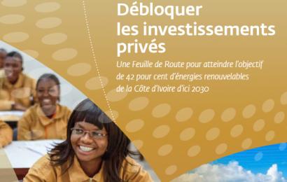 Développement des énergies renouvelables: la Côte d'Ivoire a sa feuille de route jusqu'en 2030 (Document)