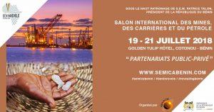 Salon international des mines, des carrières et du pétrole du Bénin @ Hôtel Golden Tulip le Diplomate, Cotonou