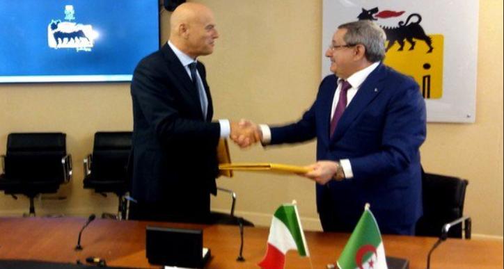 Algérie: accord entre ENI et la Sonatrach pour relever la production des champs gaziers du bassin de Berkine