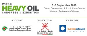 World Heavy Oil Congress 2018 @ Oman Convention and Exhibition Centre