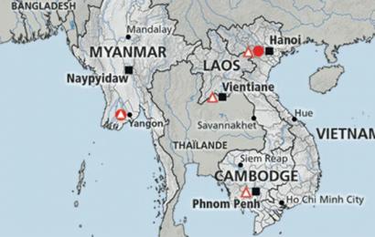 Le Cambodge touché par les eaux du barrage effondré au Laos, au moins 17 villages inondés