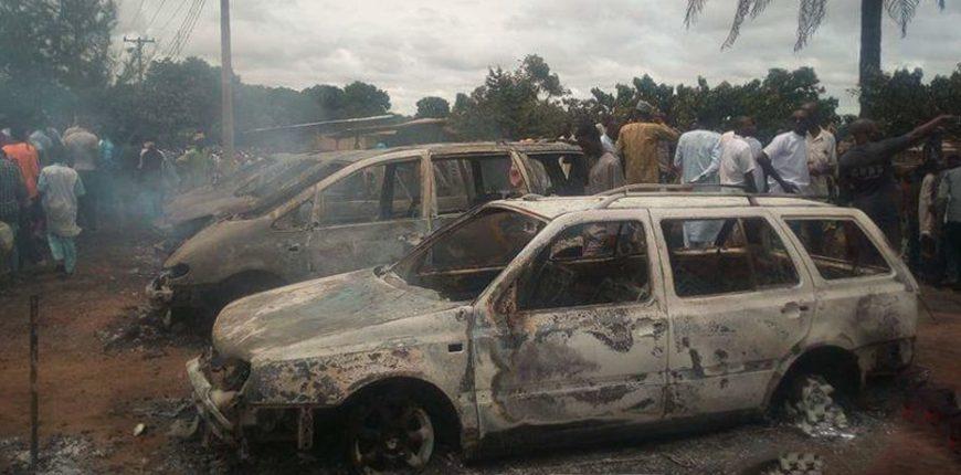 Nigeria: «plusieurs» morts dans l'explosion d'une station de remplissage de bouteilles de gaz (présidence)