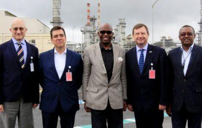 Nigeria LNG présente ses installations de liquéfaction de gaz naturel à des diplomates occidentaux