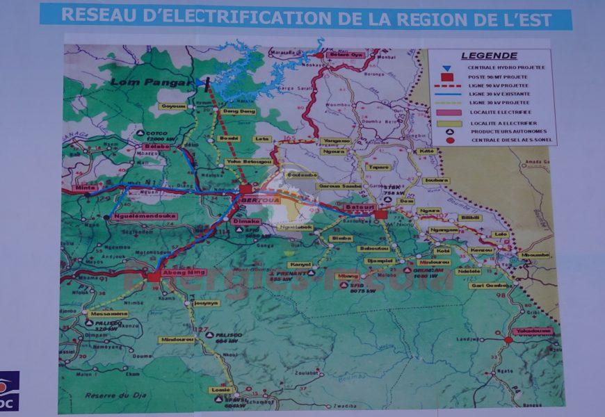 Cameroun: les localités de la région de l'Est qui bénéficieront de l'énergie produite par l'usine de pied de Lom Pangar