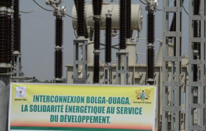 L'interconnexion électrique entre Ouagadougou (Burkina) et Bolgatanga (Ghana) fonctionnelle