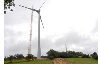 Avec 193 mètres, les éoliennes inaugurées le 29 septembre dans le Jura sont les plus hautes de France