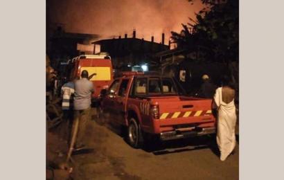 Cameroun: l'incendie survenu jeudi à Douala n'a pas touché d'installations de la SCDP (officiel)
