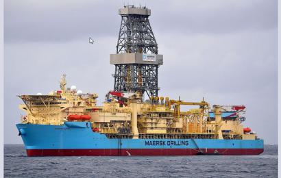 Ghana: le Maersk Viking est arrivé dans le bloc offshore Deepwater Tano Cape Three Points