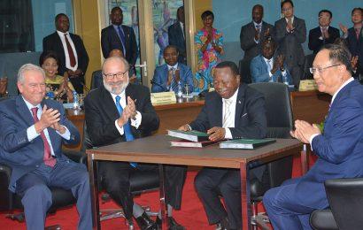 RDC: l'accord de développement du barrage Inga 3 (11 000 MW) signé entre les développeurs du projet et le gouvernement