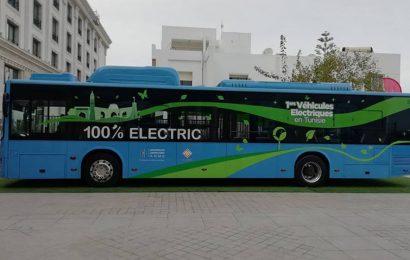 Les bus électriques du constructeur chinois BYD en essai en Tunisie