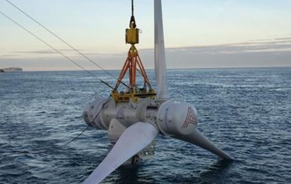 France: Simec Atlantis Energy veut exploiter plusieurs gigawatts d'énergie hydrolienne dans la zone du Raz Blanchard