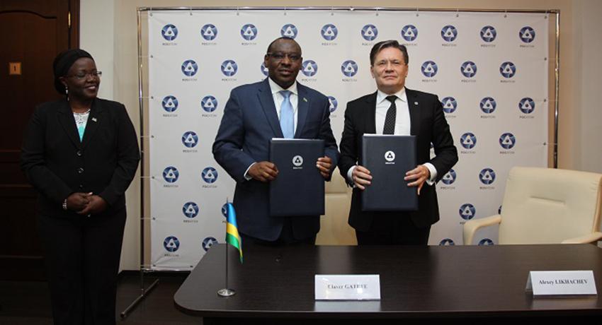 Rwanda : le gouvernement signe un accord avec l'agence russe Rosatom pour le développement du nucléaire civil