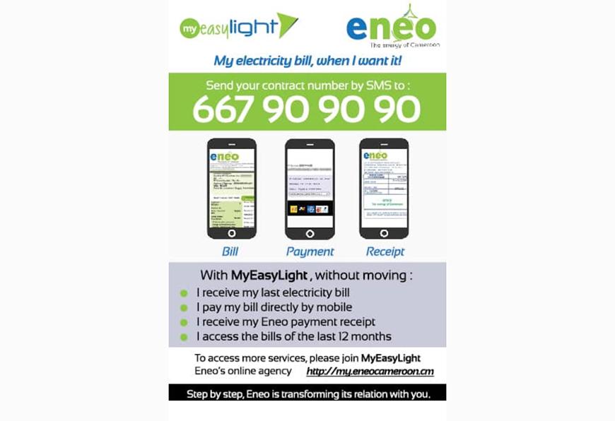 Cameroun: Eneo présente de nouveaux services par téléphone pour la consultation des factures d'électricité et l'alerte sur des pannes