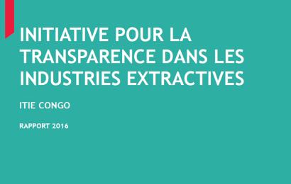 Congo – Brazzaville : les hydrocarbures ont généré 97% des revenus du secteur extractif en 2016 (ITIE)