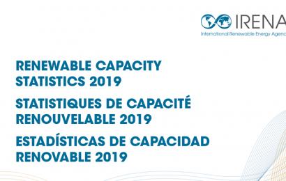 Energies renouvelables: l'Irena estime à 171 gigawatts les capacités de production mises en place en 2018