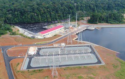Cameroun: les premiers mégawatts du barrage hydroélectrique de Memve'ele (211 MW) injectés dans le réseau