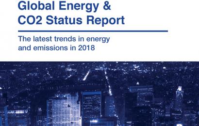 Les émissions mondiales de CO2 liées à la production et l'usage de l'énergie ont représenté 33,1 gigatonnes en 2018 (AIE)