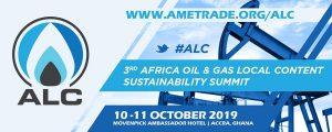 3e Sommet sur le contenu local et le développement du secteur gazier et pétrolier en Afrique (ALCSS 2019) @ Movenpick Ambassador Hotel