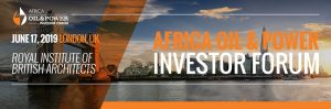 Africa Oil and Power (AOP) Investor Forum 2019 @ Royal Institute of British Architects