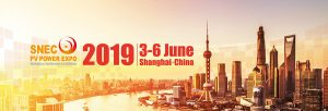 SNEC PV Power Expo 2019 @ Kerry Hotel Pudong et Shanghai New International Expo Centre