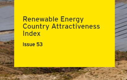 Maroc, Egypte et Kenya parmi les pays les 40 pays au monde les plus attractifs pour les énergies renouvelables (classement EY)
