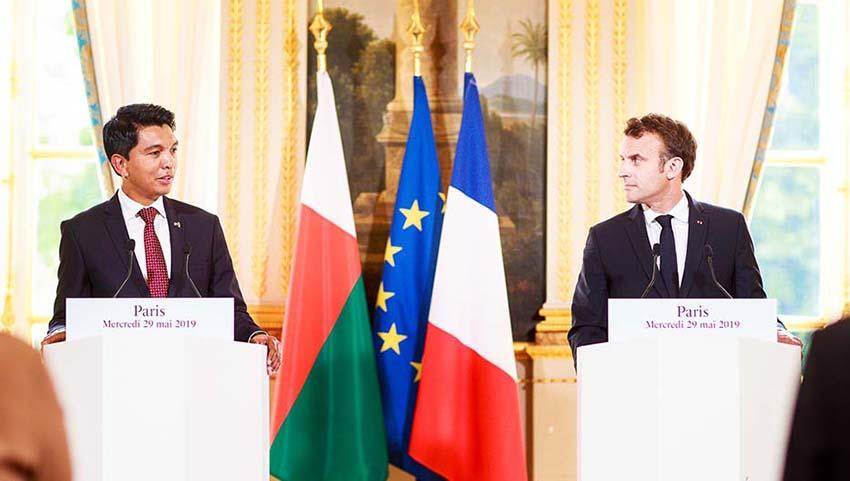 Madagascar/Hydrocarbures: Andry Rajoelina et Emmanuel Macron conviennent de reprendre les discussions sur le statut des îles Eparses