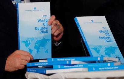 L'Opep révise la demande mondiale de pétrole à 110,6 millions de barils par jour en 2040
