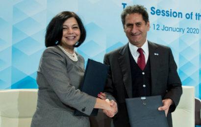 Financement des projets d'énergies renouvelables: partenariat entre l'Irena et la BERD