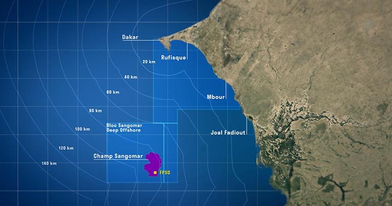 Sénégal/Hydrocarbures: ce que prévoit la première phase du développement du champ de Sangomar