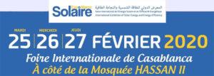 Solaire Expo Maroc 2020 @ Foire internationale de Casablanca
