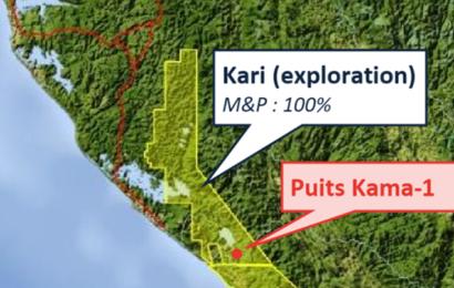 Gabon/Hydrocarbures: Maurel & Prom va forer un second puits sur le permis d'exploration Kari après un premier puits infructueux