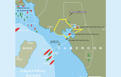 Cameroun: la zone onshore du bloc Matanda contiendrait 1 196 milliards de pieds cubes de gaz de ressources prospectives