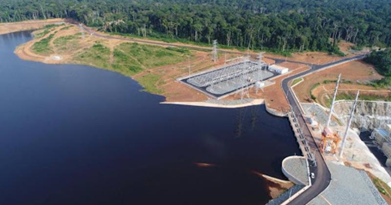 """Cameroun: le coût de production de l'énergie du barrage de Memve'ele estimé à """"moins de 44 FCFA"""" le kWh"""