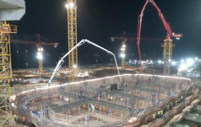 Sénégal: Eiffage Génie Civil Marine a démarré la construction des caissons de la digue de protection du projet gazier GTA