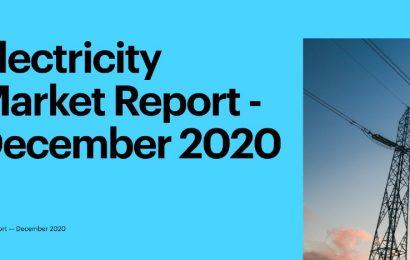 La demande mondiale d'électricité devrait croître timidement d'environ 3% en 2021 (AIE)