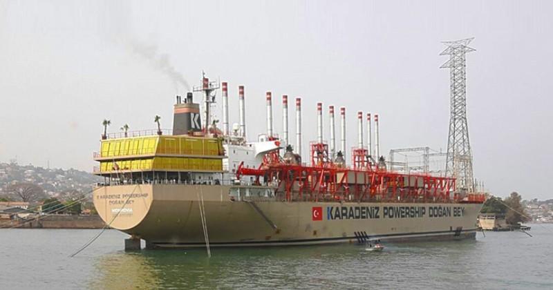 Karpowership prospecte au Cameroun avec ses centrales électriques au gaz flottantes