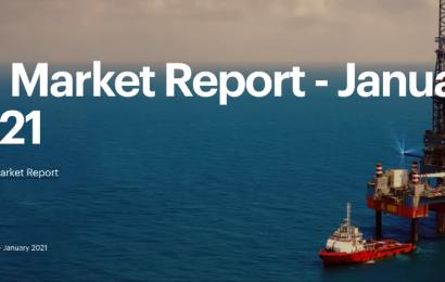 Pour son rapport mensuel de janvier, l'AIE entrevoit la demande de pétrole en 2021 à 96,6 Mb/j